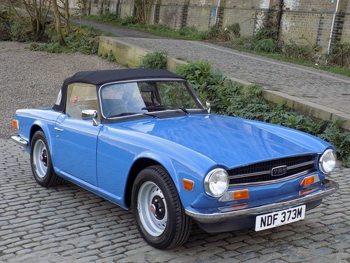Triumph TR6 125bhp Sports Convertible SOLD (picture 1 of 6)