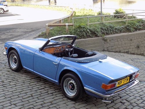 Triumph TR6 125bhp Sports Convertible SOLD (picture 2 of 6)