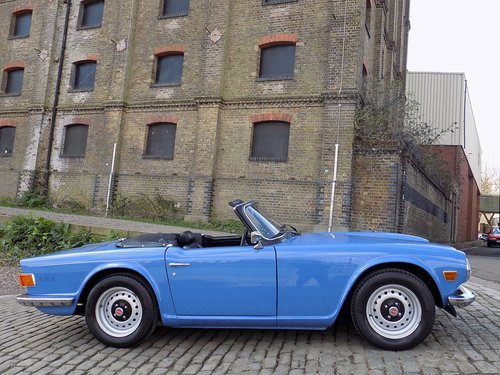 Triumph TR6 125bhp Sports Convertible SOLD (picture 6 of 6)