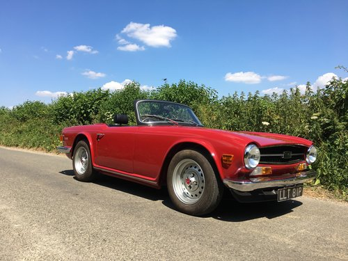 Triumph Tr6 Pi 1975 The Finest You Will See For Sale Car And Classic