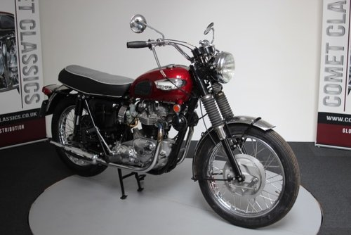 1968 Triumph Bonniville 650cc  For Sale (picture 3 of 6)