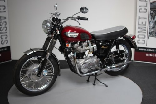 1968 Triumph Bonniville 650cc  For Sale (picture 4 of 6)