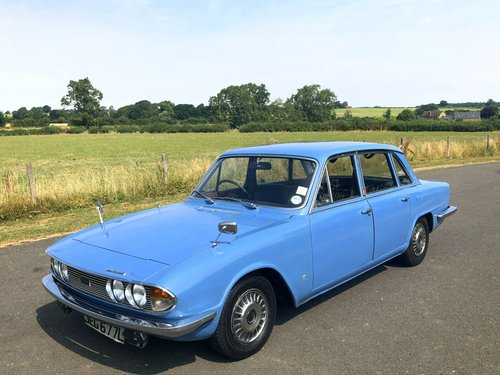 1973 Triumph 2000 MK II Automatic SOLD (picture 1 of 6)
