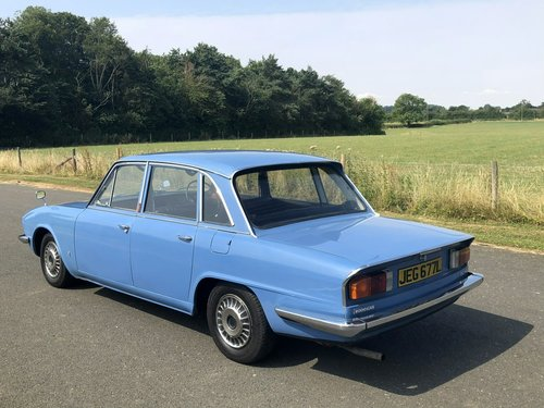 1973 Triumph 2000 MK II Automatic SOLD (picture 4 of 6)