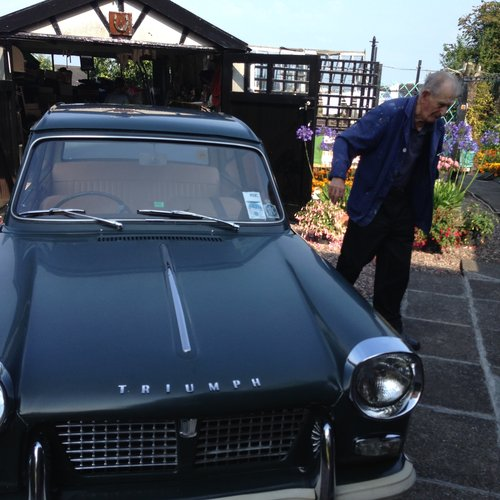 1970 Triumph Herald in ORIGINAL CONDITION SOLD (picture 5 of 6)