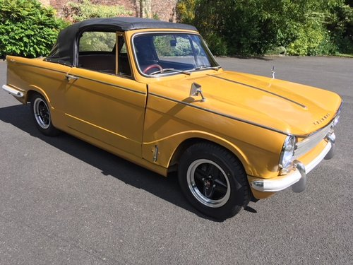 **REMAINS AVAILABLE**1970 Triumph Herald 13/60 Convertible SOLD by Auction (picture 1 of 1)