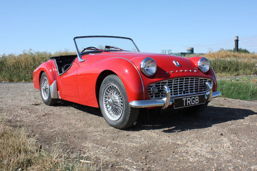 1958 TRIUMPH TR3A FOR SALE SOLD (picture 6 of 6)