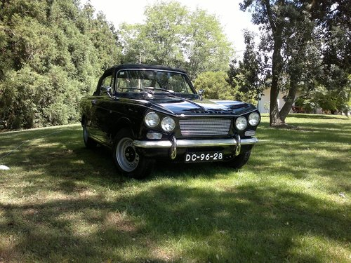 1966 Triumph Vitesse 6 Convertible Overdrive For Sale (picture 1 of 5)
