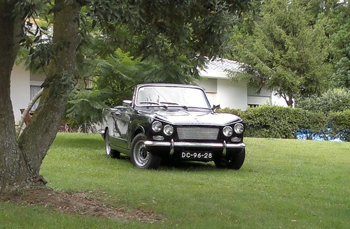 1966 Triumph Vitesse 6 Convertible Overdrive For Sale (picture 5 of 5)