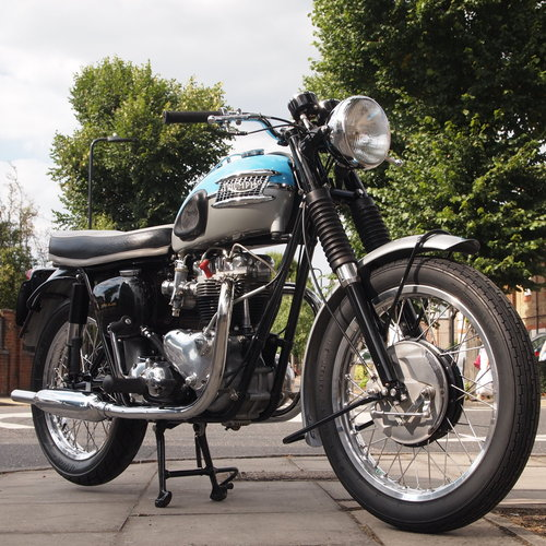 1962 T120 650cc Pre Unit, Duplex, RESERVED FOR TONY For Sale (picture 4 of 6)