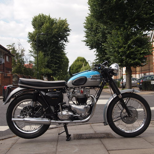 1962 T120 650cc Pre Unit, Duplex, RESERVED FOR TONY For Sale (picture 1 of 6)