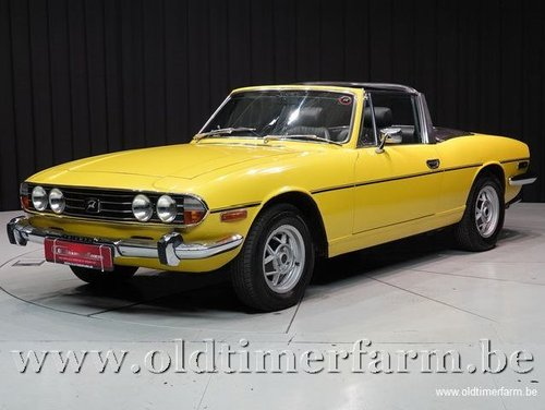 1976 Triumph Stag V8 '76 For Sale (picture 1 of 6)