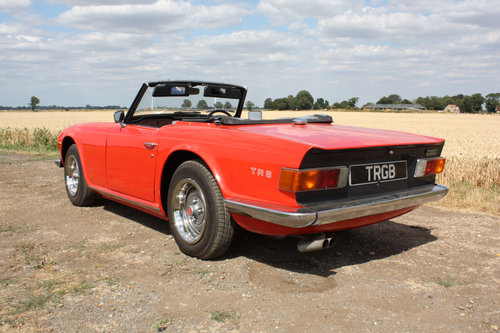 TR6 1973 ORIGINAL UK FUEL INJECTED RHD CAR WITH OVERDRIVE PI SOLD (picture 5 of 6)