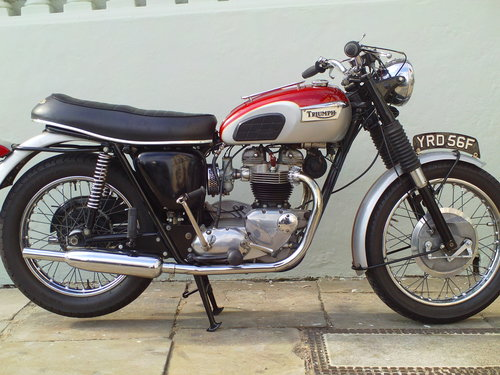 1968 TRIUMPH TROPHY TR6R SOLD (picture 1 of 6)