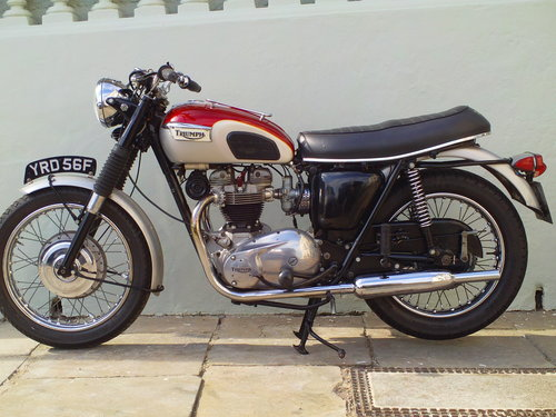 1968 TRIUMPH TROPHY TR6R SOLD (picture 3 of 6)