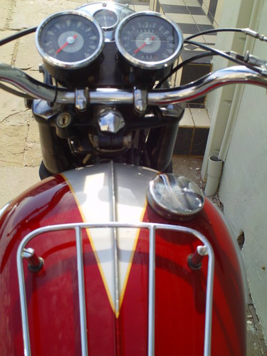 1968 TRIUMPH TROPHY TR6R SOLD (picture 5 of 6)