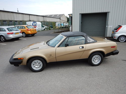 1980 TRIUMPH TR8 Convertible ~ Genuine Factory Built ~  SOLD (picture 1 of 6)