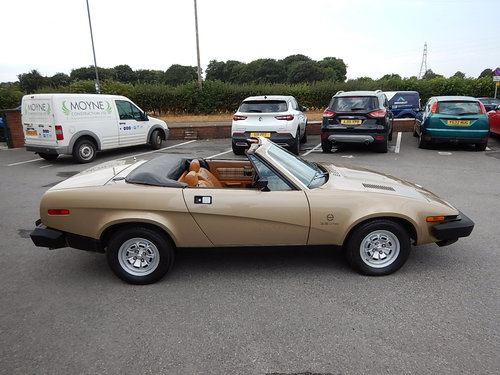 1980 TRIUMPH TR8 Convertible ~ Genuine Factory Built ~  SOLD (picture 3 of 6)