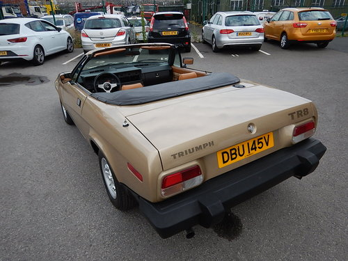 1980 TRIUMPH TR8 Convertible ~ Genuine Factory Built ~  SOLD (picture 4 of 6)