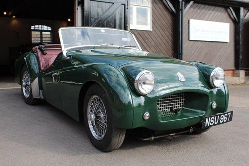 1954 TRIUMPH TR2 LONG DOOR  For Sale (picture 1 of 6)