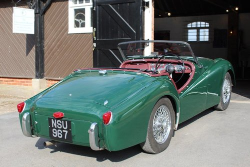 1954 TRIUMPH TR2 LONG DOOR  For Sale (picture 6 of 6)