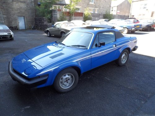 1978 Triumph Tr7 Fhc Genuine Factory Sprint Sold Car And Classic