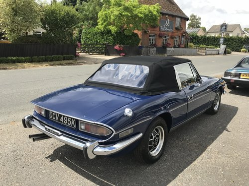 1972 Triumph Stag - Completed renovation For Sale (picture 2 of 12)