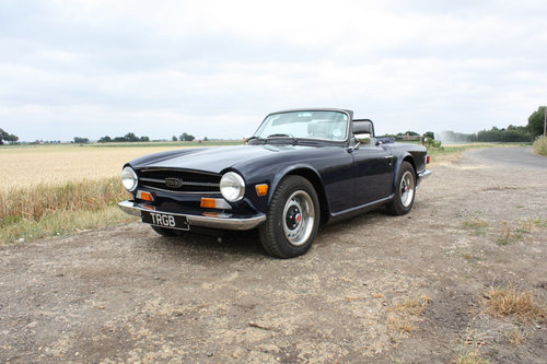 TR6 1968 EX AMERICAN CAR CONVERTED TO RHD SOLD (picture 1 of 6)