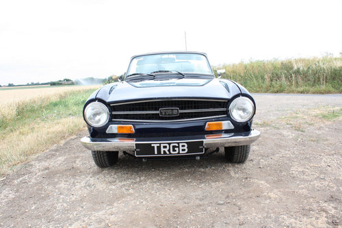 TR6 1968 EX AMERICAN CAR CONVERTED TO RHD SOLD (picture 6 of 6)