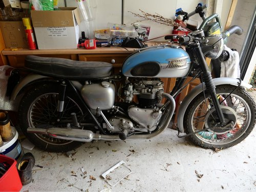 1960 Pre Unit 650 / 750cc. RESERVED FOR TERRY. SOLD (picture 1 of 1)