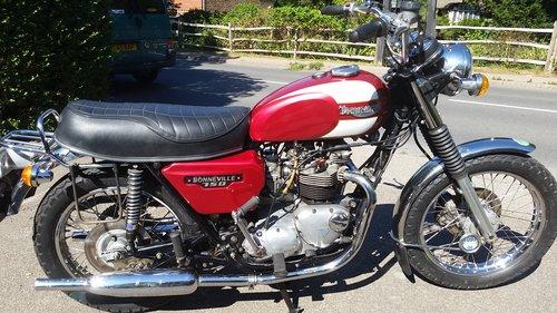 1978 Triumph T140E 750 Export Bonneville For Sale (picture 1 of 6)