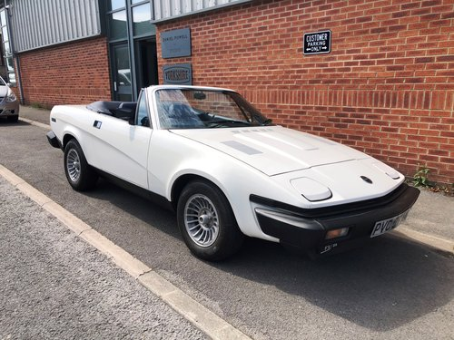 1981  Factory produced Triumph TR8 Convertible 1 family owner 15k SOLD (picture 1 of 6)