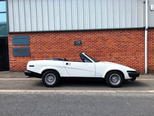1981  Factory produced Triumph TR8 Convertible 1 family owner 15k SOLD (picture 2 of 6)