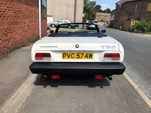 1981  Factory produced Triumph TR8 Convertible 1 family owner 15k SOLD (picture 3 of 6)