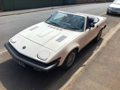 1981  Factory produced Triumph TR8 Convertible 1 family owner 15k SOLD (picture 4 of 6)