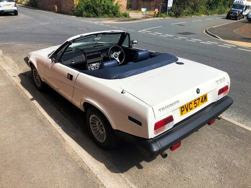 1981  Factory produced Triumph TR8 Convertible 1 family owner 15k SOLD (picture 5 of 6)
