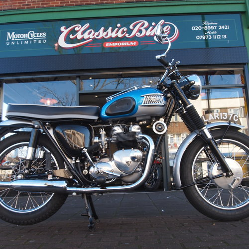 1965 Tiger T90 350cc Concours d' Elegance Condition. SOLD. SOLD (picture 1 of 6)