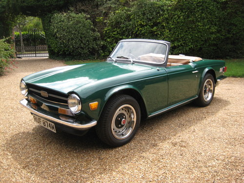 1974 Triumph TR6 Near Concours Possible Show Car For Sale (picture 1 of 6)