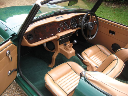 1974 Triumph TR6 Near Concours Possible Show Car For Sale (picture 3 of 6)