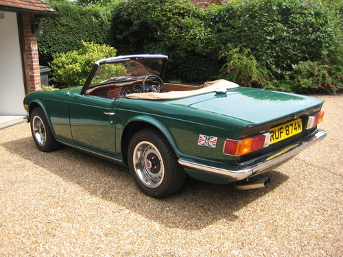 1974 Triumph TR6 Near Concours Possible Show Car For Sale (picture 2 of 6)
