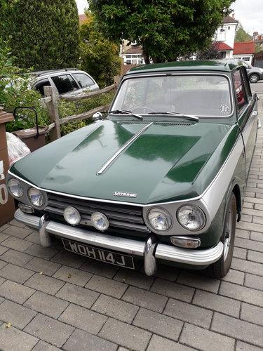 1970 Triumph Vitesse Mk2 Saloon SOLD (picture 1 of 5)