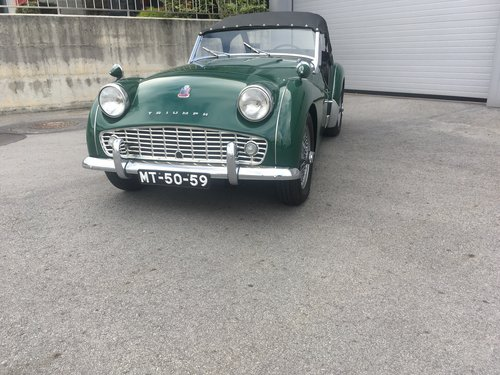 1959 Triumph TR 3 A  For Sale (picture 1 of 6)