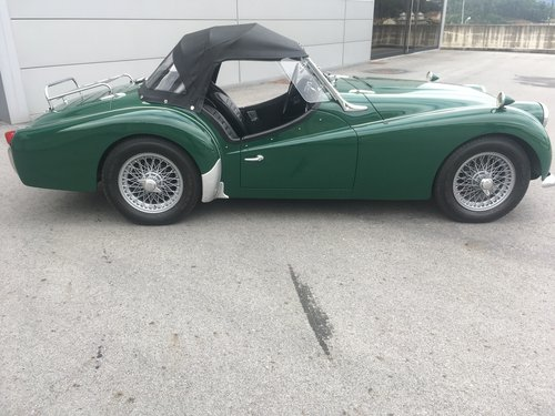 1959 Triumph TR 3 A  For Sale (picture 3 of 6)