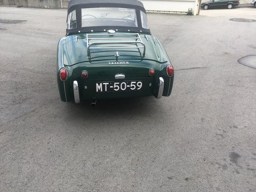 1959 Triumph TR 3 A  For Sale (picture 4 of 6)