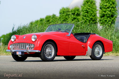 1959 very nice Triumph TR3A For Sale (picture 1 of 6)