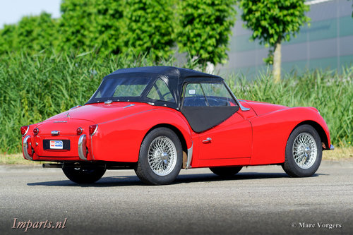 1959 very nice Triumph TR3A For Sale (picture 5 of 6)