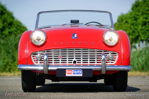 1959 very nice Triumph TR3A For Sale (picture 6 of 6)
