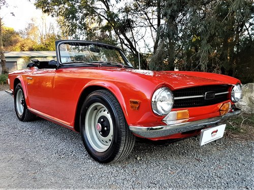 1970 The Collectable TR6! For Sale (picture 1 of 6)