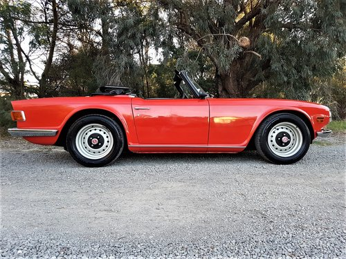 1970 The Collectable TR6! For Sale (picture 4 of 6)