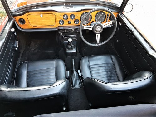 1970 The Collectable TR6! For Sale (picture 6 of 6)